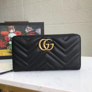 G💞G Marmont zip around wallet